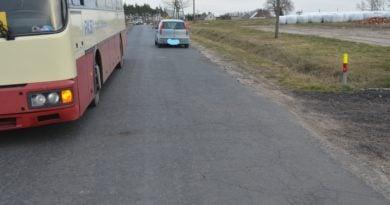 wypadek Ostrzeszów fot. policja