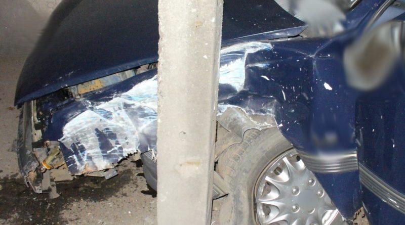 wypadek Piła, fot. policja