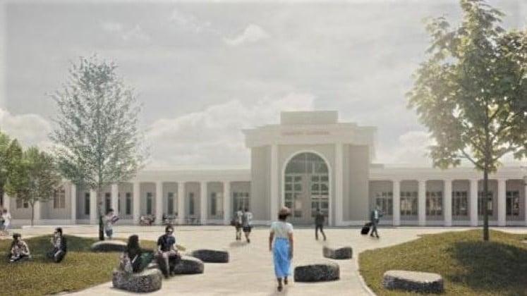 Dworzec Zachodni, konkurs 9 fot. UMP