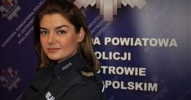 jagoda stawowska fot. policja 390x205 - Ostrów: Policjantka zatrzymała złodzieja. Podczas robienia zakupów...