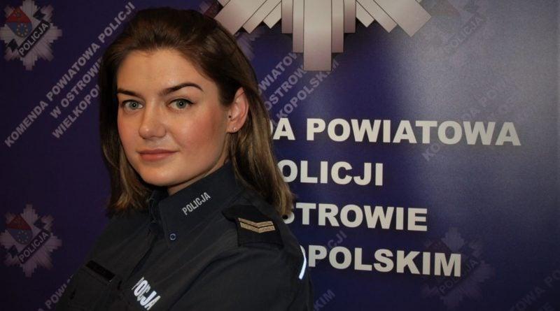 jagoda stawowska fot. policja 800x445 - Ostrów: Policjantka zatrzymała złodzieja. Podczas robienia zakupów...