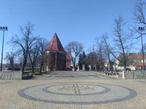katedra 3 300x225 - Poznań: Słoneczna niedziela - a miasto puste!
