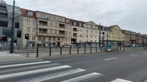 krolowej jadwigi  300x169 - Poznań: Miasto jest puste