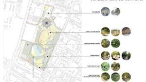 park kasprowicza projekt fot. ump  300x169 - Poznań: Nowe oblicze parku Kasprowicza. Bez betonu!
