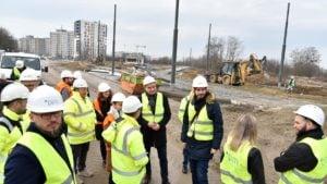 petla unii lubelskiej 3 fot. pim 300x169 - Poznań: Trasa tramwajowa przy Unii Lubelskiej na półmetku