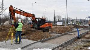petla unii lubelskiej 4 fot. pim 300x169 - Poznań: Trasa tramwajowa przy Unii Lubelskiej na półmetku