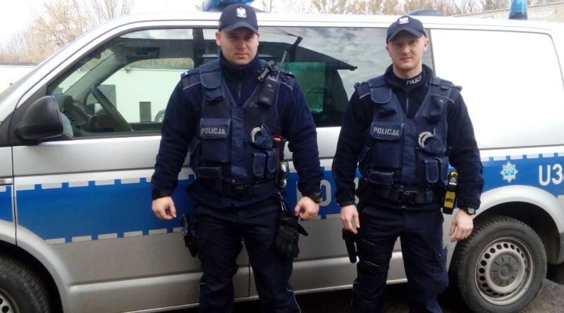 policjanci Czarnków fot. policja