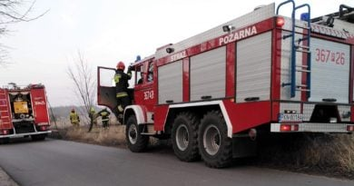 pożar 2 fot. OSP Golina