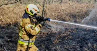 pożar archiwum fot. OSP Golina