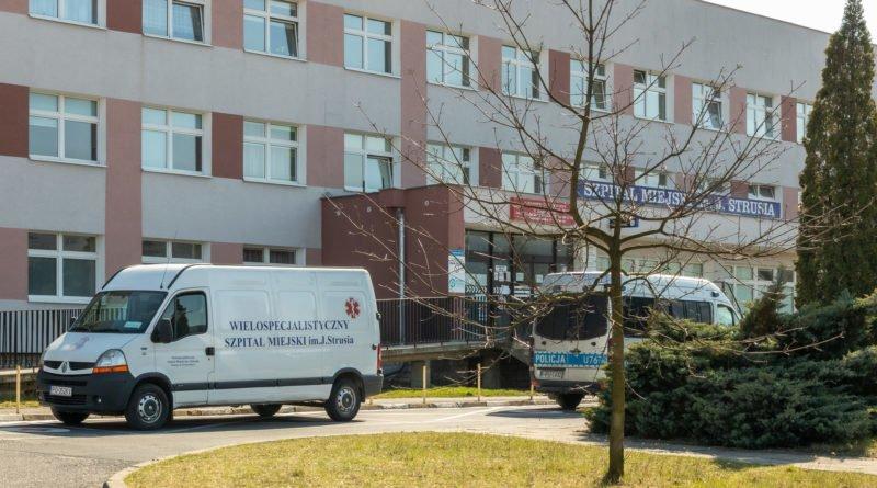 Szpital Zakaźny Szwajcarska koronawirus epidemia