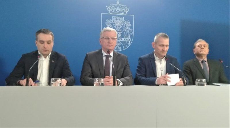 prezydenci konferencja prasowa UMP