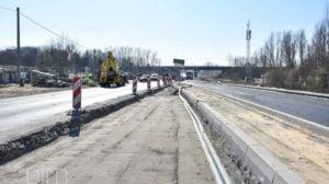 Poznań: Trwa przebudowa Gdyńskiej. Jedno rondo już jest