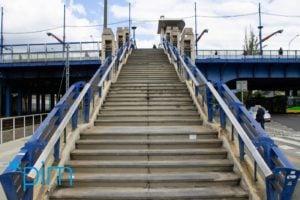 schody most dworcowy fot. pim 300x200 - Poznań: Schody południowego Mostu Dworcowego idą do remontu