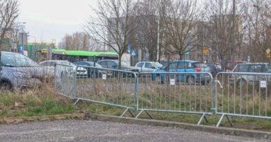 Strefa wokół szpitala zakaźnego fot. Sławek Wąchała