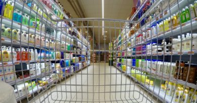 supermarket wózek fot. pixabay