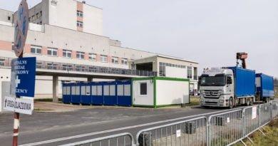 szpital zakazny szwajcarska fot. slawek wachala 1 390x205 - Wielkopolska: 11 osób zakażonych koronawirusem
