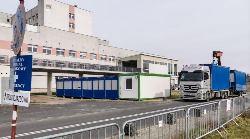 szpital zakazny szwajcarska fot. slawek wachala 1 800x445 - Wielkopolska: Kolejne przypadki zakażeń koronawirusem