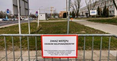 Szpital Zakaźny Szwajcarska strefa zero zakaz fot. Sławek Wąchała