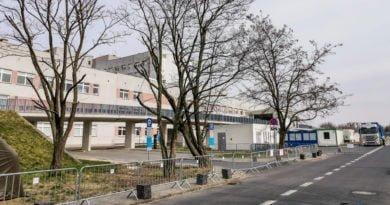 Szpital Zakaźny Szwajcarska strefa zero śluza fot. Sławek Wąchała