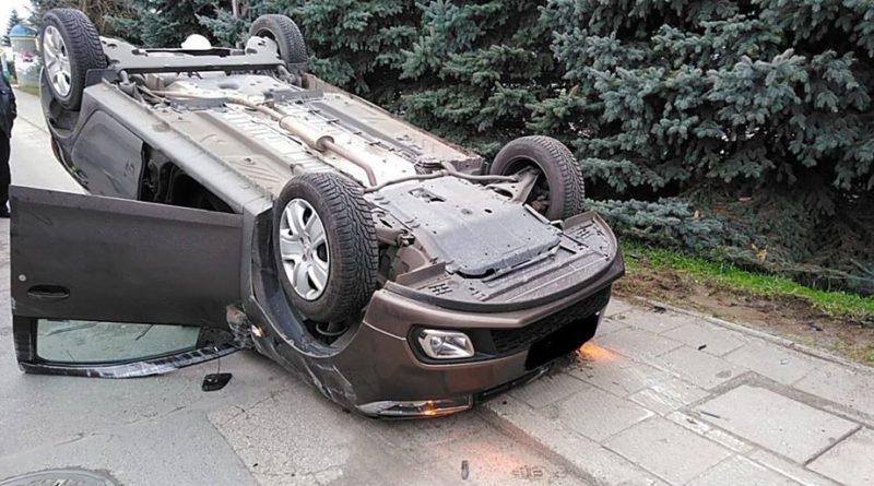wypadek fot. OSP Pniewy