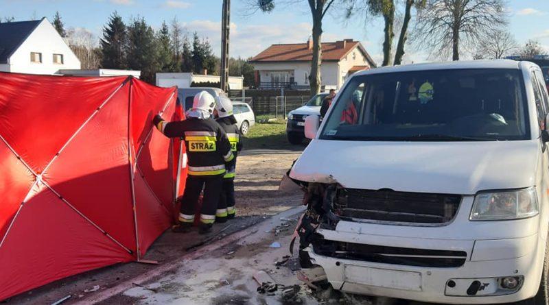 wypadek Oborniki fot. policja