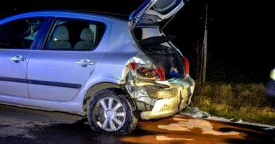 wypadek w Wojciechowie 3 fot. KPP Jarocin