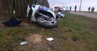 wypadek Wągrowiec fot. policja