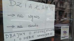 zamkniety lokal 300x169 - Poznań: Miasto jest puste