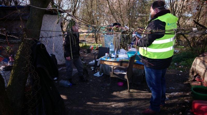 bezdomni fot. straż miejska