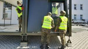 Ostrów Wlkp: Żołnierze WOT zbudowali izbę przyjęć
