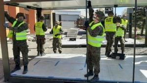 budowa izby przyjec kalisz 1 fot. wbot 300x169 - Kalisz: Szpital ma już doraźną izbę przyjęć