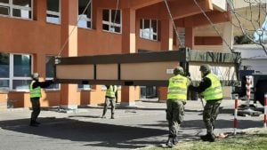 budowa izby przyjec kalisz 4 fot. wbot 300x169 - Kalisz: Szpital ma już doraźną izbę przyjęć