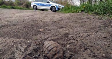 granat fot. policja
