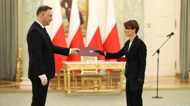 Jadwiga Emilewicz nominacja na wicepremiera fot. Kancelaria premiera