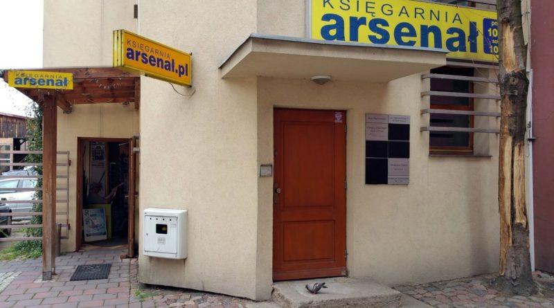 księgarnia Arsenał fot. FB