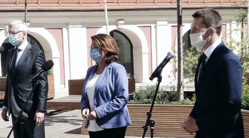 Małgorzata Kidawa-Błońska w Poznaniu