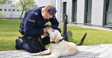 Maniek fot. policja