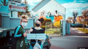 mural rogozno fot. fb 300x169 - Rogoźno: W podzięce dla służby zdrowia.... namalowali mural!