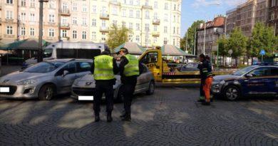 odholowane samochody 3 fot. smmp 390x205 - Poznań: Pracowity tydzień straży miejskiej