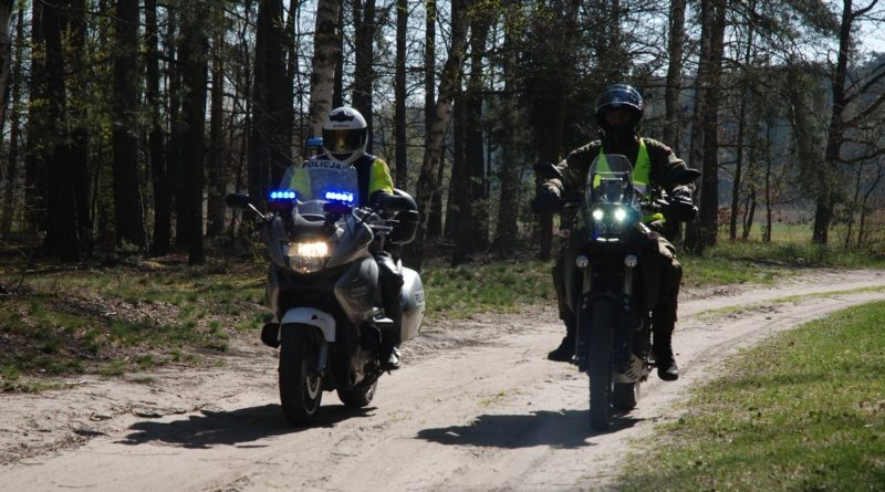 patrol na motocyklach fot. WOT