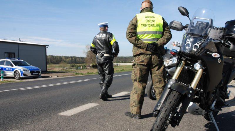 patrol na motocyklach2 fot. wot 800x445 - Żandarmeria Wojskowa będzie wspierać policję