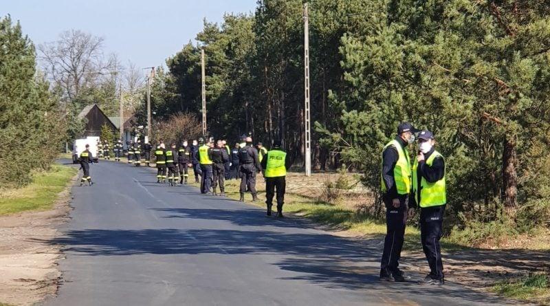 poszukiwania 4 Dębicze fot. policja