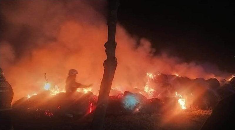pożar 2 fot. OSP Gułtowy