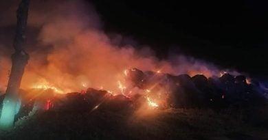 pożar archiwum fot. OSP Gułtowy