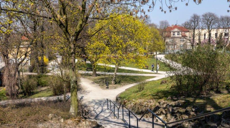 Policja patrol Park im. H. Wieniawskiego Poznań fot. Sławek Wąchała