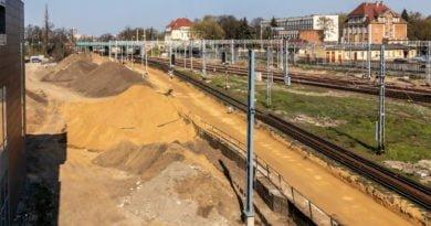 Remont linii kolejowej PKP Poznań fot. Sławek Wąchała