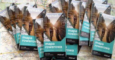 Poznań mapa rowerowa fot. ZDM