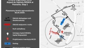 przebudowa ulicy wrzoska fot. zdm  300x169 - Poznań: Przebudowa układu drogowego na Wrzoska i Dojeździe. Są utrudnienia w ruchu