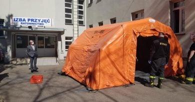 szpital 3 dfot. osp wyrzysk 390x205 - Wielkopolska: Kolejny szpital dla zakażonych koronawirusem