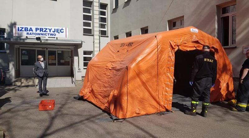 szpital 3 dfot. osp wyrzysk 800x445 - Wielkopolska: Kolejny szpital dla zakażonych koronawirusem